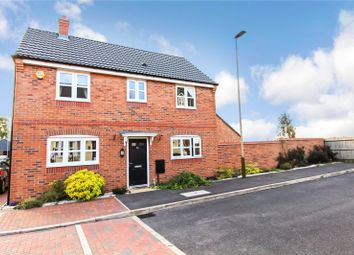 Thumbnail 3 bed detached house for sale in Knightwood Road, Leicester