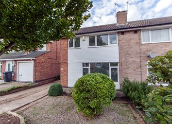 Thumbnail 3 bed semi-detached house for sale in Ramsbury Road, Knighton