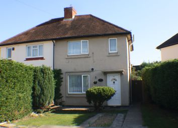 Thumbnail 2 bed semi-detached house to rent in Moreland Avenue, Colnbrook, Slough