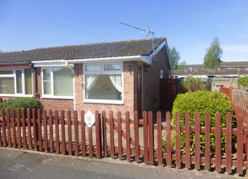 Thumbnail 1 bed semi-detached bungalow for sale in Brighton Grove, Hereford
