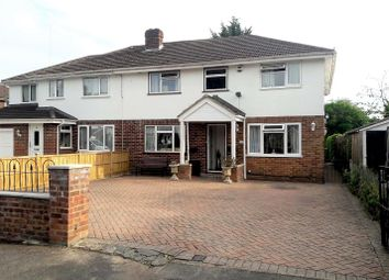 Thumbnail 5 bed semi-detached house for sale in Stanton Close, Earley, Reading, Berkshire