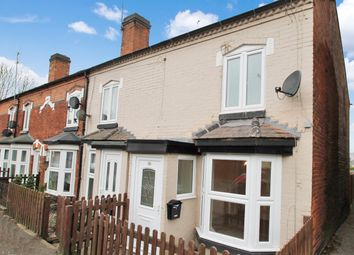 Thumbnail 2 bed end terrace house to rent in Evesham Road, Redditch