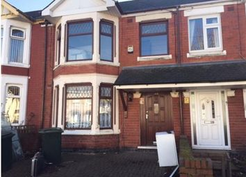 Thumbnail 4 bedroom terraced house to rent in Siddeley Avenue, Coventry