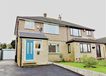 Thumbnail 3 bed semi-detached house for sale in Carr View Road, Hepworth, Huddersfield