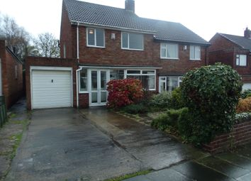Thumbnail 3 bed semi-detached house for sale in Red House Gardens, Netherton Lane, Bedlington