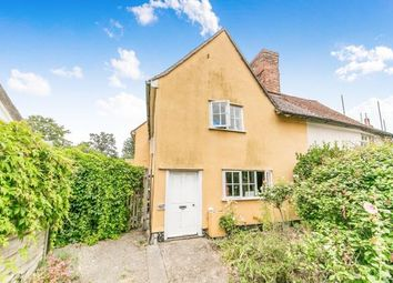 Thumbnail 3 bed semi-detached house for sale in Great Waldingfield, Sudbury, Suffolk