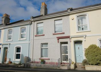 Thumbnail 2 bed terraced house for sale in Hotham Place, Stoke, Plymouth