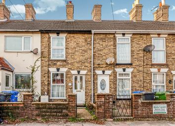 Thumbnail 2 bed terraced house for sale in London Road, Kessingland, Lowestoft