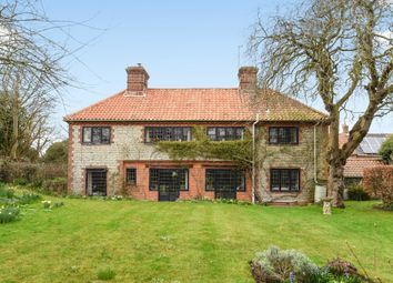 Thumbnail 6 bedroom detached house for sale in The Street, Weybourne, Holt