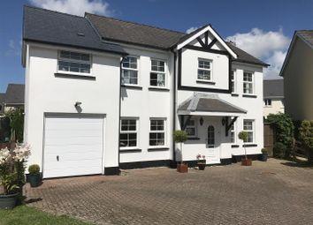 Thumbnail 4 bedroom detached house for sale in Tudor Gardens, Merlins Bridge, Haverfordwest