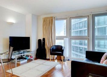 Thumbnail 1 bed flat to rent in New Providence Wharf, Canary Wharf, Blackwall, West India Quay, London