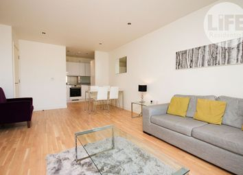 Thumbnail 1 bed flat to rent in Cordage House, 15 Cobblestone Square, London