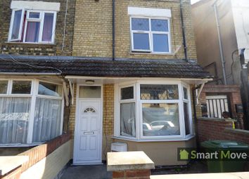Thumbnail 4 bed end terrace house for sale in Cromwell Road, Peterborough, Cambridgeshire.