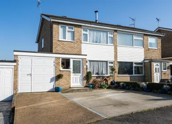 Thumbnail 3 bedroom semi-detached house for sale in Parkway, Wickham Market, Woodbridge
