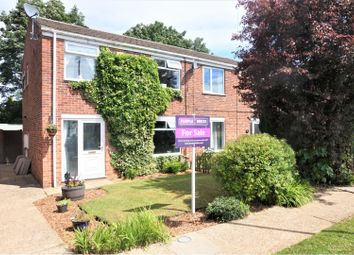 Thumbnail 3 bed semi-detached house for sale in Beverley Close, Holton-Le-Clay