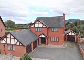 Thumbnail 4 bed detached house for sale in 4, Naylor Fields, Arddleen, Llanymynech, Powys