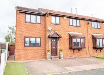 Thumbnail 4 bed semi-detached house for sale in West View, Barlborough, Chesterfield