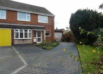 Thumbnail 4 bed semi-detached house for sale in Larkin Close, Bulkington, Bedworth
