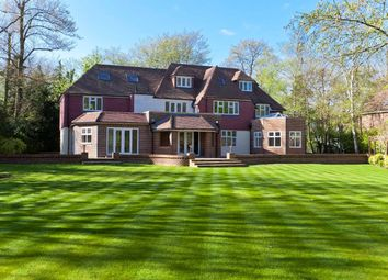 Thumbnail 6 bed detached house for sale in Silverdale Avenue, Ashley Park, Walton-On-Thames, Surrey