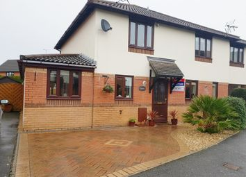 Thumbnail 2 bed semi-detached house for sale in Oaktree Drive, Dan Y Graig, Porthcawl