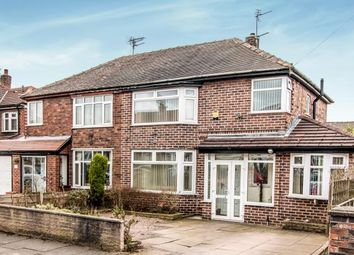Thumbnail 3 bedroom semi-detached house for sale in Newcroft Crescent, Urmston, Manchester, Greater Manchester