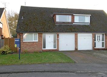 Thumbnail 3 bed semi-detached house to rent in Deerhurst Avenue, Winnersh, Wokingham