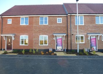 Thumbnail 2 bedroom terraced house for sale in Thetford Road, Watton, Thetford