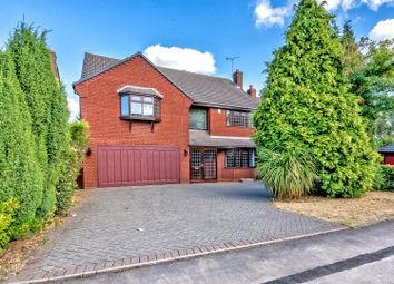 Thumbnail 6 bed detached house for sale in Rosewood Park, Cheslyn Hay, Walsall