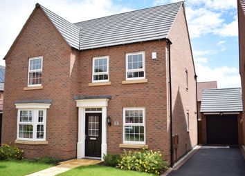 "Thumbnail 4 bed detached house for sale in ""Holden"" at Forest House Lane, Leicester Forest East, Leicester"