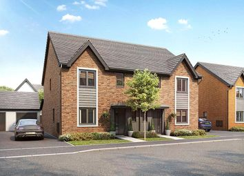 Thumbnail 3 bedroom semi-detached house for sale in Wheatfield Drive, Witney, Oxfordshire