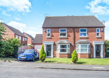 Thumbnail 2 bed semi-detached house for sale in Whitethorn Drive, Leamington Spa