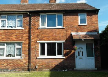 Thumbnail 3 bedroom semi-detached house to rent in 42 Rowena Drive, Scawsby, Doncaster