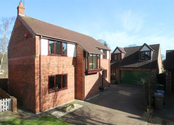 Thumbnail 5 bedroom detached house for sale in Spinney Way, Walkington, Beverley