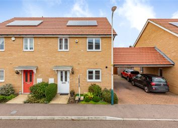 Thumbnail 3 bed semi-detached house for sale in Regna Close, Rainham