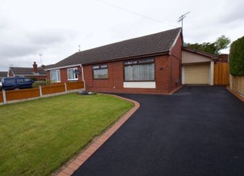 Thumbnail 3 bed semi-detached bungalow for sale in Balmoral Road, Wrexham