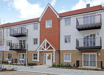 Thumbnail 2 bed flat to rent in Redlands Court, Eden Road, Dunton Green, Kent