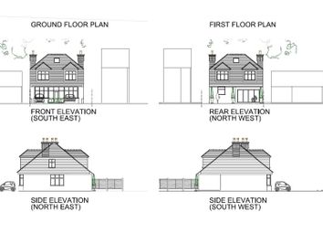 Thumbnail 4 bed detached house for sale in Brentwood Road, Gidea Park