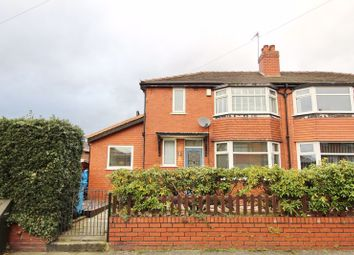 Thumbnail 3 bed semi-detached house for sale in Woodford Ave, Eccles, Manchester