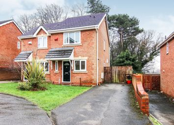 Thumbnail 2 bedroom semi-detached house for sale in Heatley Close, Prenton