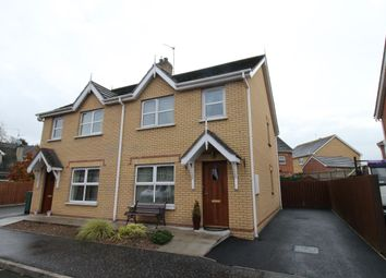 Thumbnail 3 bed semi-detached house for sale in The Cornmill, Dromara, Dromore