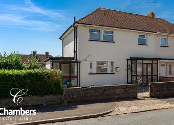 Thumbnail 3 bedroom end terrace house for sale in Crundale Crescent, Llanishen, Cardiff