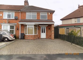 Thumbnail 3 bed end terrace house to rent in York Road, Hall Green, Birmingham