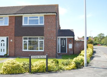 Thumbnail 2 bed end terrace house for sale in Farm Road, Hutton, Weston-Super-Mare