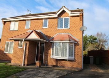 Thumbnail 3 bedroom semi-detached house to rent in Swann Close, North Luffenham, Oakham