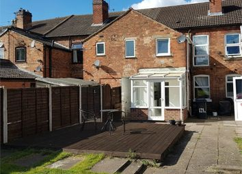 Thumbnail 3 bed terraced house for sale in Branston Road, Burton-On-Trent, Staffordshire