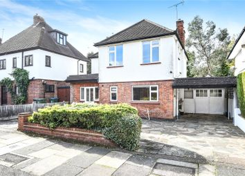 Thumbnail 3 bed detached house for sale in Parkside Drive, Watford, Hertfordshire