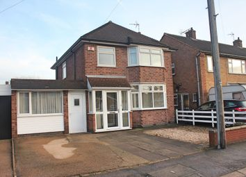 3 bed detached house for sale in Willow Park Drive, Wigston, Leicester LE18
