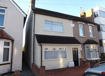 Thumbnail 3 bedroom end terrace house to rent in Marlborough Road, Romford, Essex