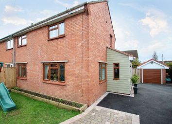 Thumbnail 3 bed semi-detached house for sale in Bussex Square, Westonzoyland, Bridgwater