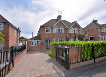 Thumbnail 4 bed semi-detached house for sale in Baydon Drive, Reading